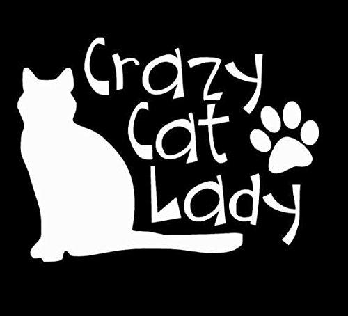 crazy-cat-lady-decal-vinyl-sticker-cars-trucks-vans-walls-laptop-white-55-x-4-in-lli202