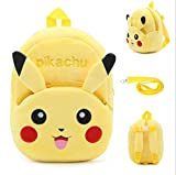 Chicpaw Adjustable Dog Pet Backpack Outdoor Travel Dog Bag With Leash Cute Cartoon Bag For Medium Dog (For Medium Dog Pet (6-20KG), Yellow Pikachu)