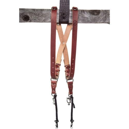 HoldFast Gear Money Maker Multi-Camera Harness, Bridle Leather, Small, Chestnut by HoldFast Gear
