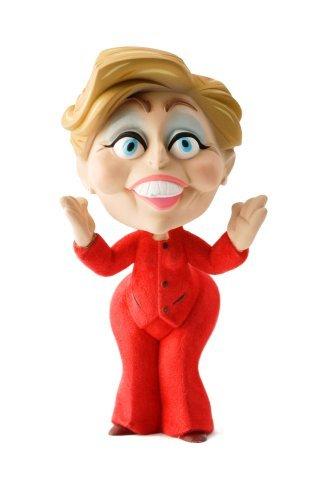 (John K. Limited Edition 7.5 Inch Political Toy Hillary Clinton )