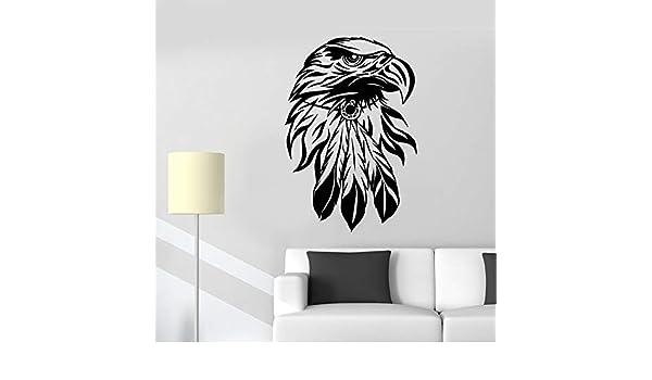 woyaofal Águila Calva Tatuajes de Pared Sala de Estar Decoración ...