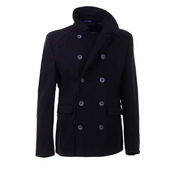Lambretta Mens Pea Coat Jacket (M, Navy): Amazon.co.uk: Clothing