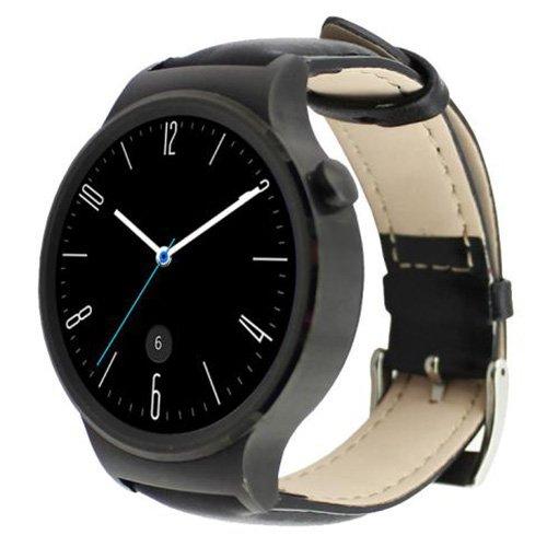 Huawei reloj inteligente banda – SODIAL (R) Fashion funda de piel reloj banda correa