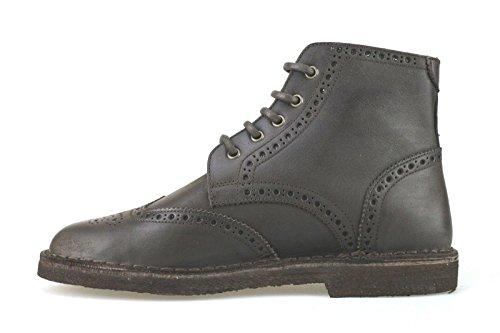 scarpe uomo LUMBERJACK 42 EU stivaletti T. moro pelle AJ73-B