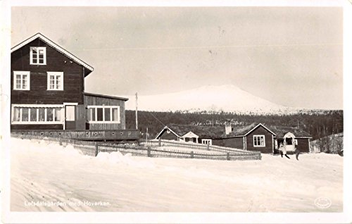 Lofsdalsgarden Sweden Hoverken Real Photo Antique Postcard J20020 (Photo Real Sweden)