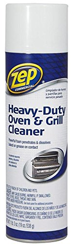 12 Pack Zep Commercial ZUOVGR19 Heavy-Duty Oven & Grill Cleaner - 19 oz by Zep