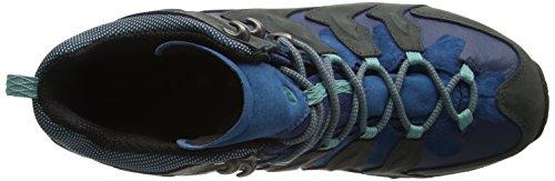 Merrell Chameleon Shift Mid Gtx - Zapatillas de Senderismo de cuero mujer gris (Granite)