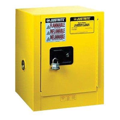 Justrite 890420 4G CAB SC YL FLAM CTOP EX