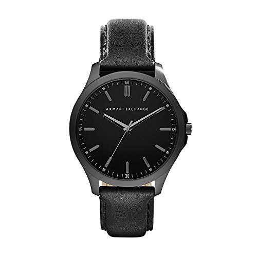 Armani Exchange Men's AX2148 Black Leather Watch -