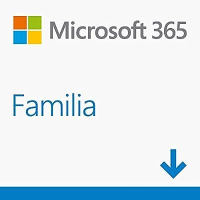 Microsoft 365 Familia| Para 6 PCs/MACs/6 tabletas incluyendo iPad ...