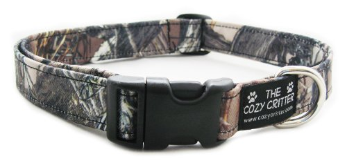 Timber Mossy Small Timber Mossy Small Cozy Critter Timber Mossy Camouflage Standard Dog Collar Small