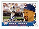 Mark Grace autographed Baseball Card (Chicago Cubs Arizona Diamondbacks) 2001 Fleer Tradition #238