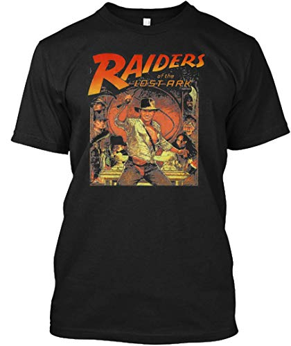 Raiders of The Lost Ark Tee|T-Shirt Black (Raiders Of The Lost Ark Hat For Sale)