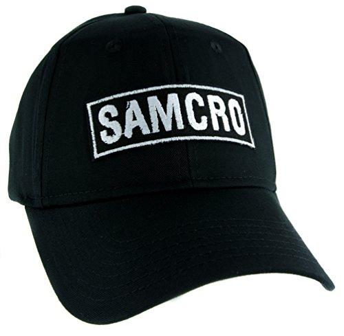 SAMCRO Sons of Anarchy Motorcycle Club Redwood Original Hat Baseball Cap