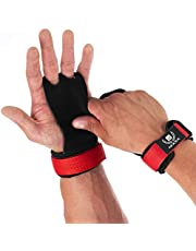 Mava Sports Leather Hand Grips with Wrist Support - Pull Ups Gloves Great for Cross Training, WOD, Deadlifts, Workout, Kettlebell, Muscle Ups, Weightlifting & Calisthenics - NO Calluses - Men & Women