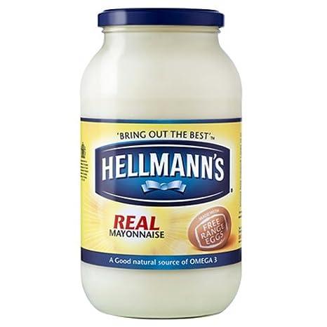 Hellmann Real Mayonnaise 2x800g Dose: Amazon.de: Lebensmittel & Getränke