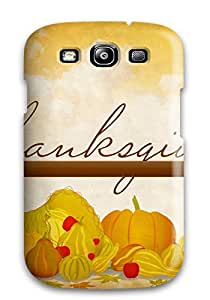 David Shepelsky's Shop New Style 3193454K66263794 New Shockproof Protection Case Cover For Galaxy S3/ Thanksgivings Case Cover