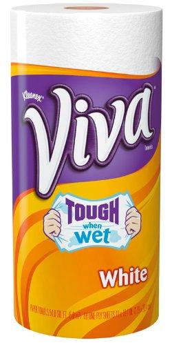 VIVA PAPER TOWEL WHITE BIG ROLL PACK OF 2