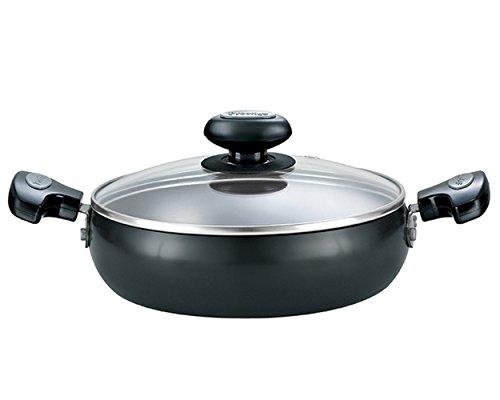 Prestige Hard Anodised Cookware Saute Pan, 240 mm, Black Price & Reviews