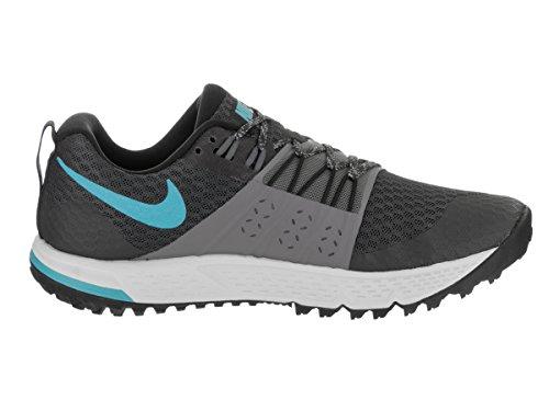 Fury Anthracite 2 blue Free Donna cool Sportive Da Rn Grey Scarpe Nike Fzw40xqw