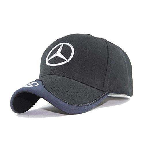 Hat Electronic - Yuanxi Electronics for Mercedes Benz F1 Racing Hat - Black, Black, Size One Size