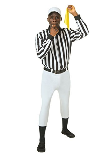 Fun C (Mens Plus Size Referee Costume)