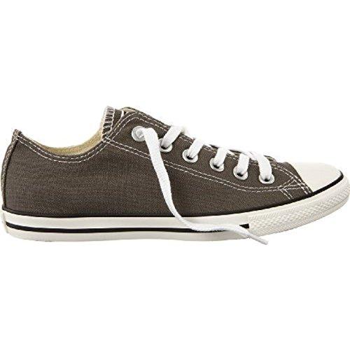 Converse - Zapatillas para mujer Gris blanco