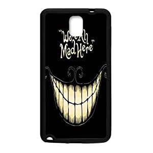 Were all mad here Phone Case for Samsung Galaxy Note3