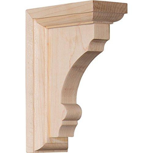 """Ekena Millwork BKTW02X04X06TMRO Wood Bracket, 2 1/2"""" for sale  Delivered anywhere in USA"""