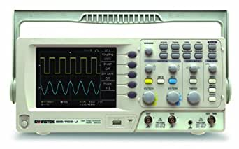 "GW Instek GDS-1102-U 5.7"" LCD Color Display Digital Storage Oscilloscope with USB Port, 100MHz Bandwidth, 2-Channel, 3.5ns Rise Time"