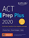 ACT Prep Plus 2020: 5 Practice Tests + Proven Strategies + Online (Kaplan Test Prep): more info