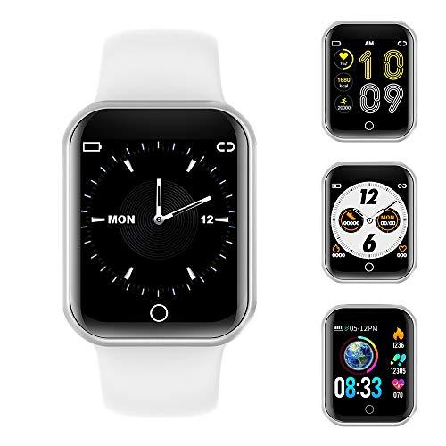 Smartwatch, Fitness Armband Wasserdicht IP68 Sport Uhr mit Blutdruckmessung, Pulsuhren, Schrittzähler, Kalorienzähler, 1…