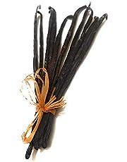 Gousses de Vanille de Madagascar qualité bourbon noire gourmet (10 gousses de 12 à 15cm pour 28grs envrion)