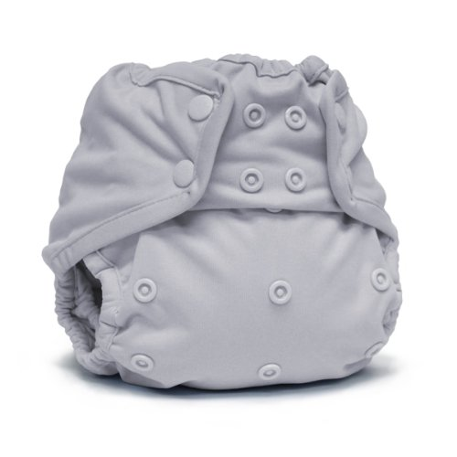 Rumparooz One Size Cloth Diaper Cover Snap, Platinum