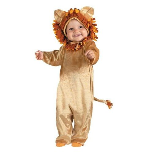 Lion Costumes Bunting (Disguise Baby's Tiny Treats Cuddly Cub Costume, Size 12-18 months)
