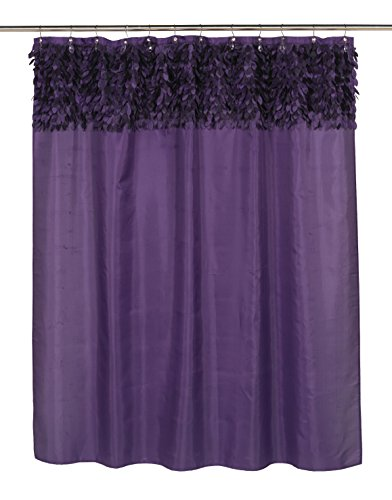 Royal Bath Latin Fever Dance Party Fabric Shower Curtain 70'' x 72'' (Purple) by Royal Bath
