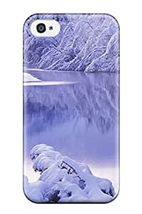 Case Cover Skin For Iphone 4/4s (lake)