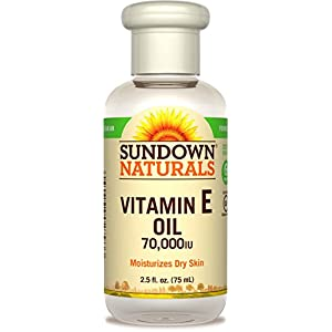 Sundown Naturals Vitamin E Oil 2.50 oz ( Packs of 3)