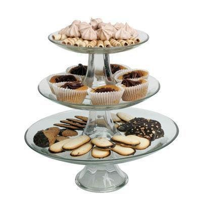 Anchor Hocking 3-Tier Presence Platter Set