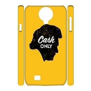 Johnny Cash Samsung Galaxy S4 I9500 Cover, Customized Samsung Galaxy S4 I9500 Case 3D