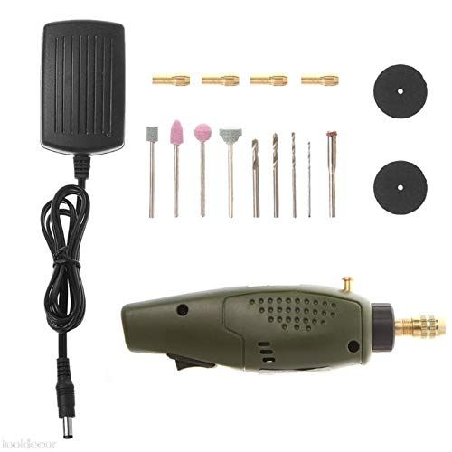 EU Plug Mini Electric Drill Accessories Grinding Set Tool for Milling Polishing -B119 ()