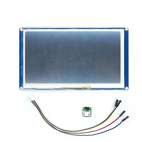 Aihasd English Version Nextion 7.0'' HMI Intelligent LCD Tough Screen Display Module for Arduino LCD TFT Raspberry Pi ESP8266 by Aihasd