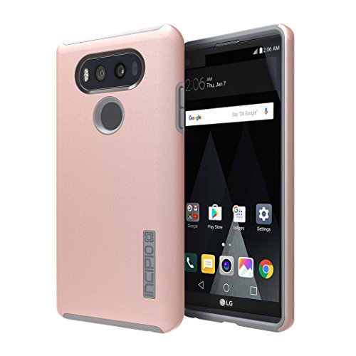 Incipio Technologies Cell Phone Case for LG V20 - Iridescent Rose Gold/Gray