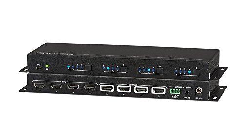 Matrix A/v Switcher (Kanex Pro 4x4 HDMI 4K/60 Matrix Switcher)