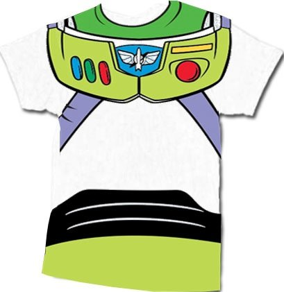 Toy story buzz lightyear astronaut costume white adult t shirt tee toy story buzz lightyear astronaut costume white adult t shirt tee amazon clothing pronofoot35fo Gallery