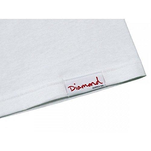 Diamond Supply Co. - Ferrari Tee - M, Bianco
