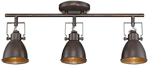 Bronze Complete Light Kits (Pro Track Abby 3-Light Bronze Complete Track Light Kit)