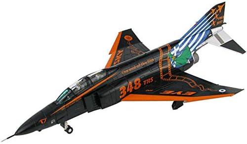 軍用機モデル、1/72スケールRF-4Eゴーストファイター合金モデル、子供のおもちゃとギフト