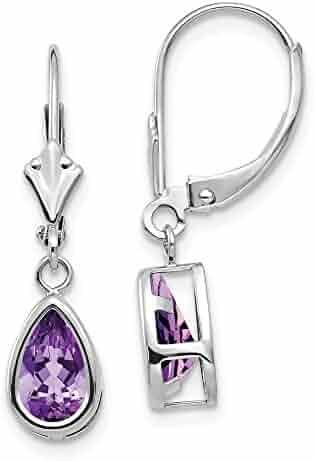 31mm x 19mm Mia Diamonds 925 Sterling Silver Solid Heart Sweet 16 Charm