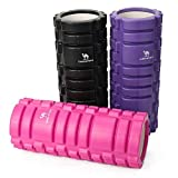 CAMEL Crown Sports Medicine High Density Foam Roller, Yoga Trigger Point Roller Back Leg Pain, Stretching Myofascial Muscle Release, Knots Massaging Sore Muscles Rehabilitation